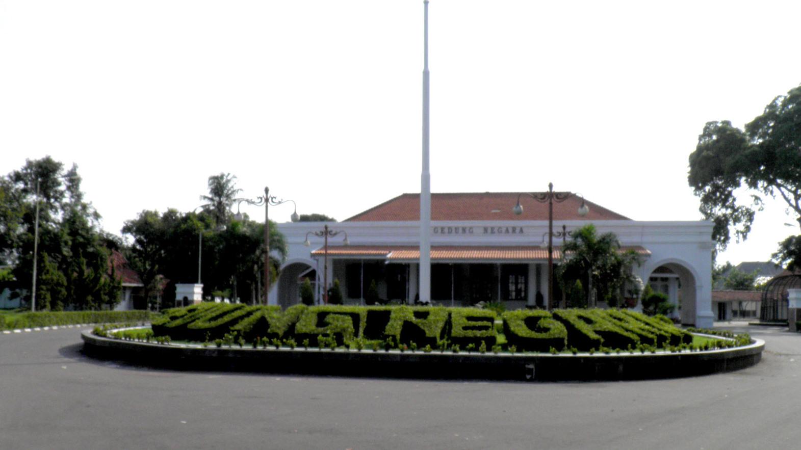 Gedung Negara Karesidenan Cirebon Tetap Terjaga Keasliannya