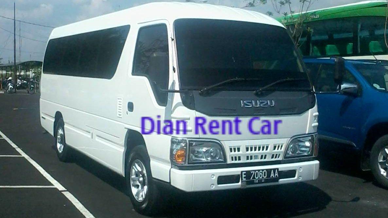 Rental Mobil Elf Cirebon Kapasitas 19 Kursi